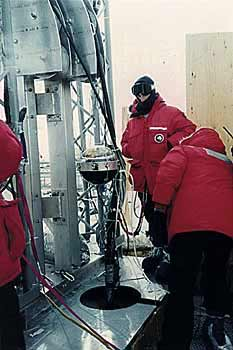 Гидродинамическое бурение на станции Амундсен-Скотт